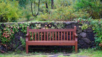 Holz-Gartenbank - gut zu wissen